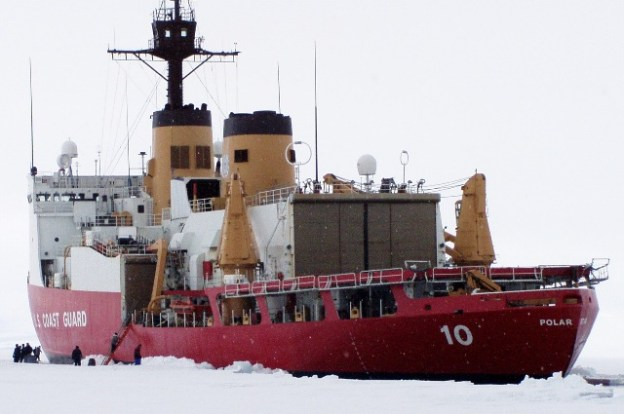 US Heavy Ice Breaker Polar Star (WAGB-10). US Coast Guard Photo