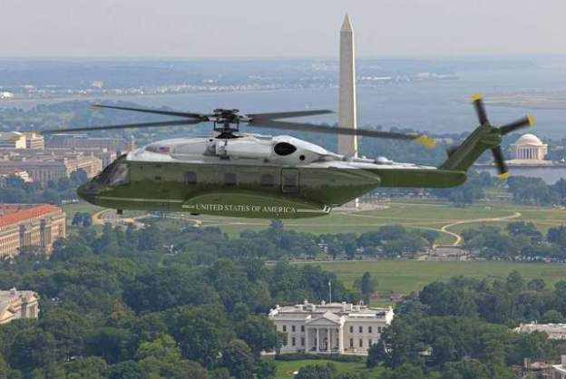 An artist's rendering of Sikorsky's bid for the VXX presidential helicopter. Sikorsky Photo