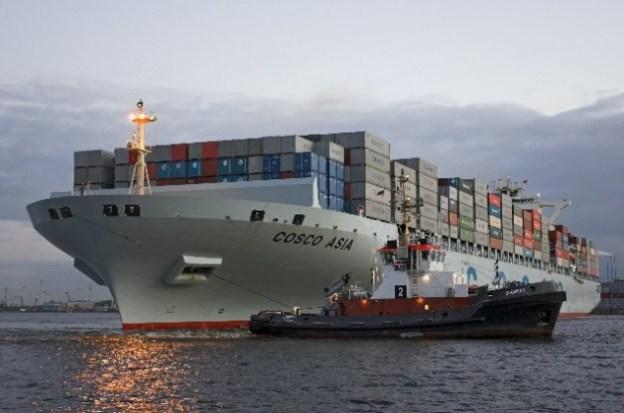 Merchant vessel Cosco Asia