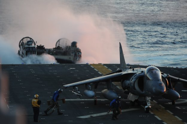 A scene from the USS Bataan (LHD 5) on Oct. 25, 2013. US Navy Photo