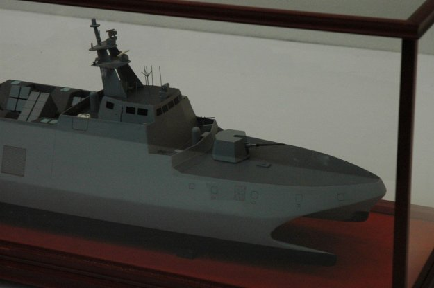 Model of Hsun Hai missile corvette