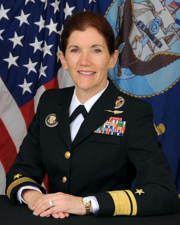 """Rear Admiral Margaret """"Peg"""" Klein"""