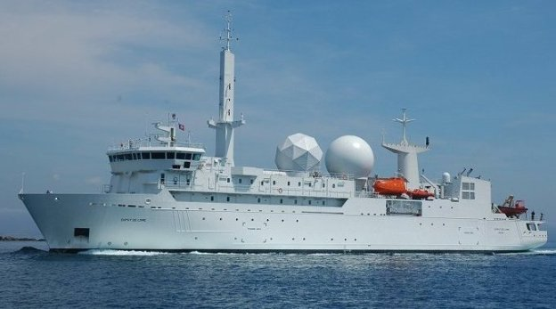 Russia Claims French Intelligence Ship Has Returned to Black Sea