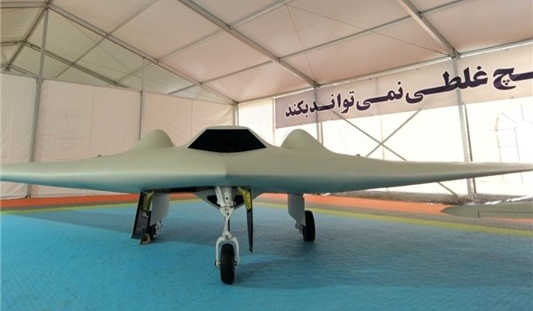 So-called Iranian version of the RQ-170. Iran claims it was able to reverse engineer the stealthy unmanned aerial vehicle. FARS News Service Photo