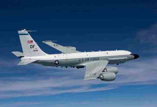 US Air Force RC-135. US Air Force Photo