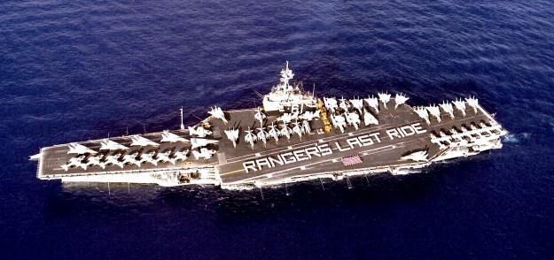 USS Ranger (CV-61). US Navy Photo
