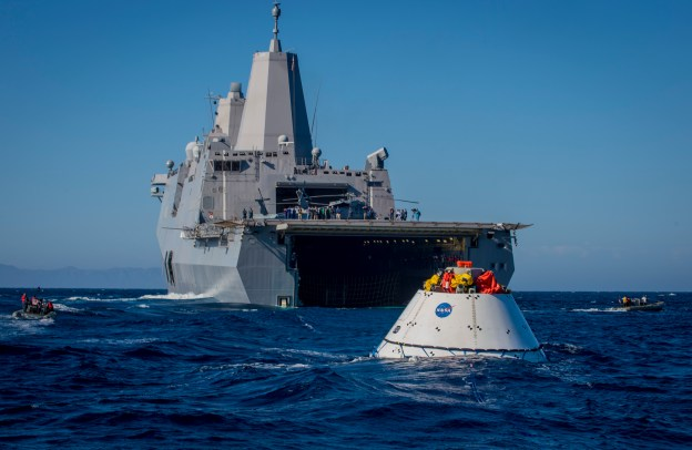Navy Completes Third Round of NASA Orion Testing