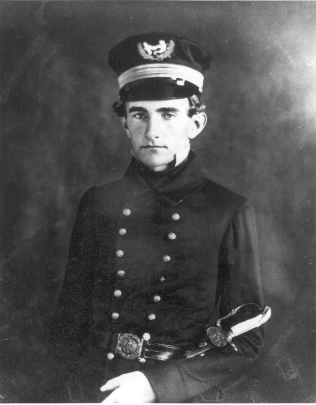 Midshipman John G. Walker in 1853