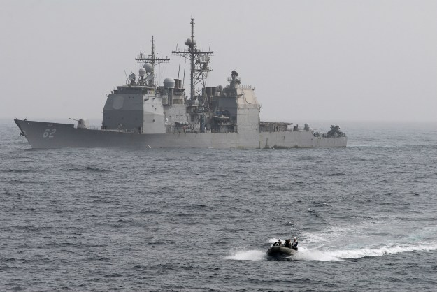 USS Chancellorsville (CG-62) in 2011. US Navy Photo