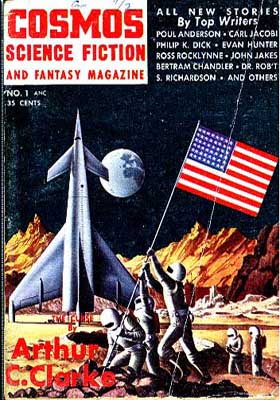The short-lived Cosmos Science Fiction and Fantasy Magazine, 1953