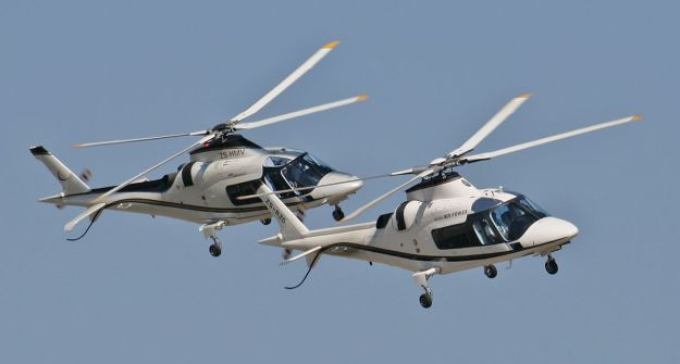 Two Augusta-Westland A109s via Wikipedia