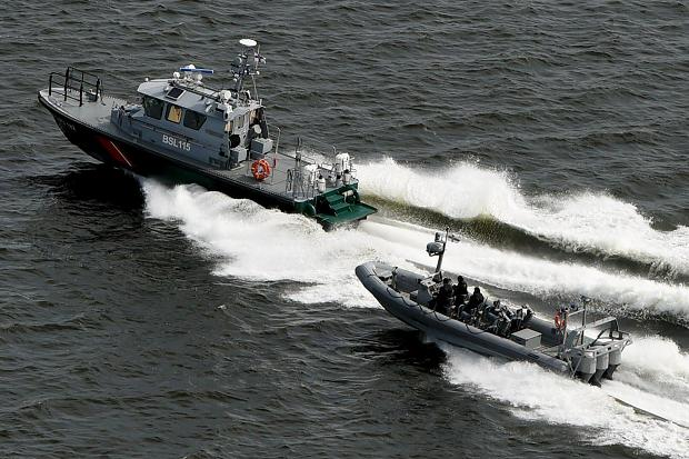 Finnish patrol boats. Reuters Photo