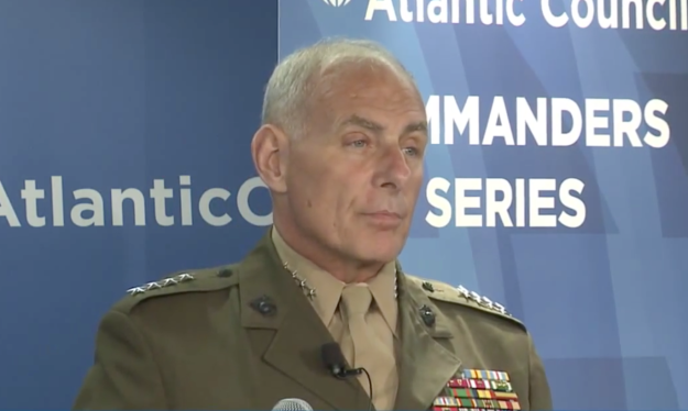 Gen. John Kelly, commander of U.S. Southern Command on May 19, 2015. Atlantic Council Image