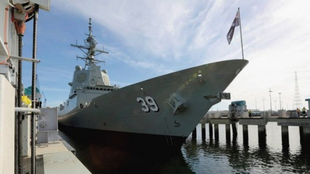Australia Launches First Hobart Destroyer Amidst Additional Cost Overruns, Delays