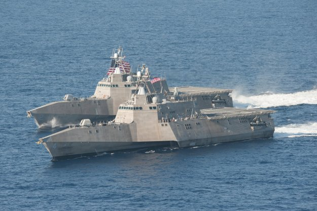 USS Coronado Departs San Diego For First Independence-Variant LCS Deployment