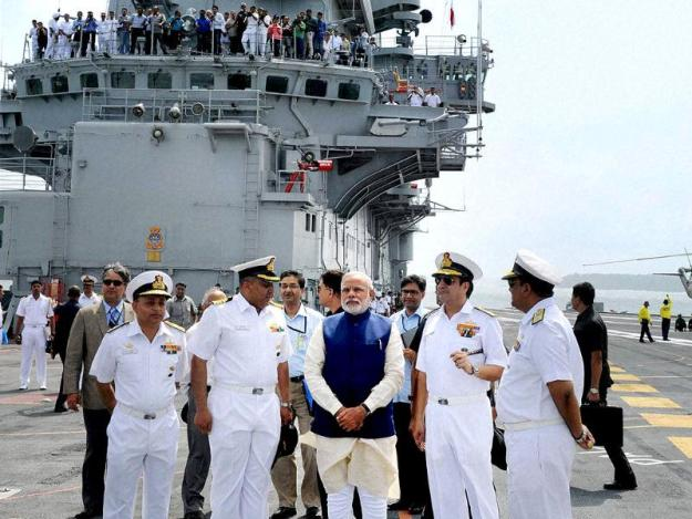 India Asks International Defense Firms for Help With New Aircraft Carrier Design