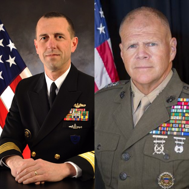 Senate Confirms Richardson, Neller for Top Navy, Marine Jobs
