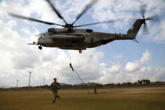 Fast marine killed in camp lejeune super stallion hard landing