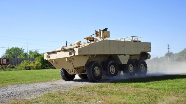 Lockheed Martin's ACV 1.1 prototype. Photo courtesy Lockheed Martin.