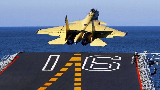 Chinese Shenyang J-15 Flying Shark based on the Russian Sukhoi Su-33