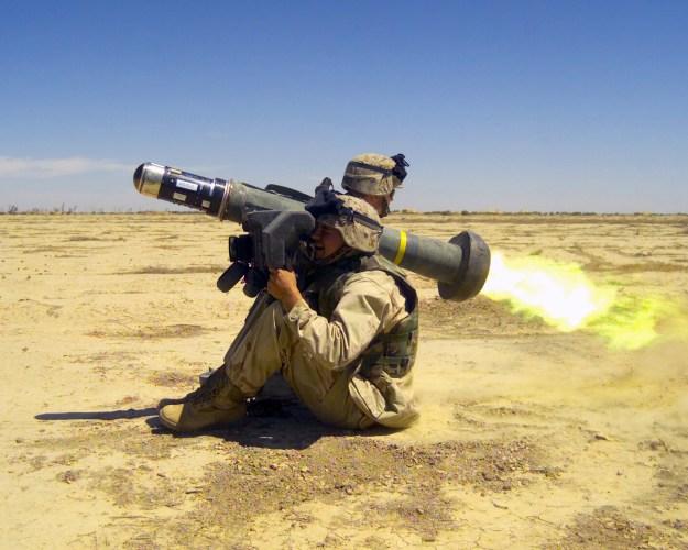 FGM-148 Javelin anti-tank missile (U.S.)