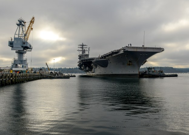 Navy: Half the Carrier Fleet Tied Up In Maintenance, Other 5 Strained To Meet Demands