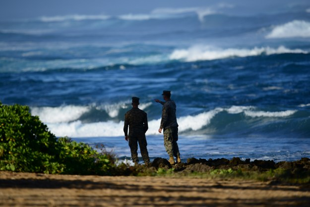 Search Suspended for 12 Marines Feared Lost Following Hawaii Helicopter Collision