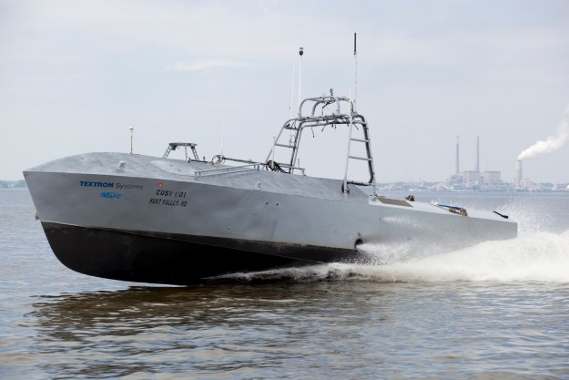Textron, Navy 'Finalizing' Details Of CUSV Contract For Mine Hunting Mission