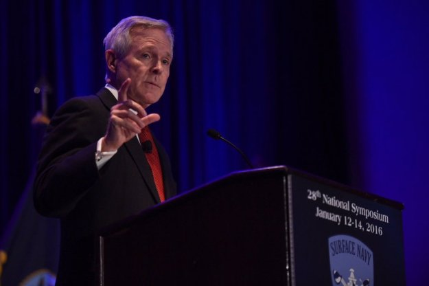 SECNAV Ray Mabus Defends Shipbuilding Record