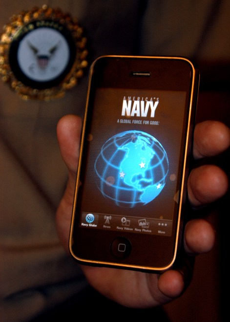 WEST: U.S. Navy Ditching BlackBerry for iPhones, Androids