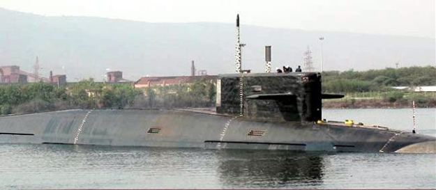 INS Arihant in December 2014. Indian Navy Photo