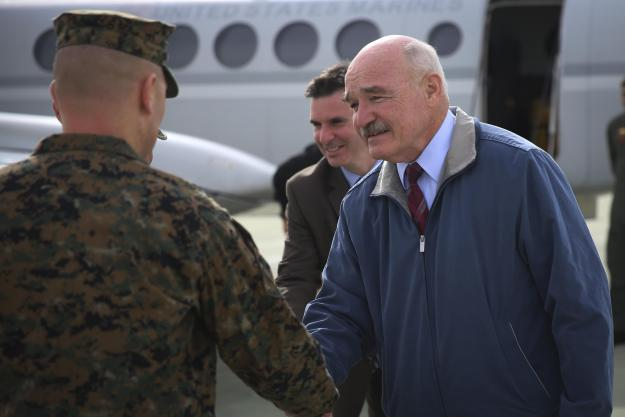Retired Vice Adm. Dennis McGinn. US Marine Corps Photo