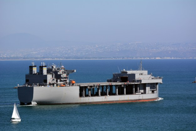 Navy Awards $106M Long Lead Contract to NASSCO for 3rd Expeditionary Mobile Base