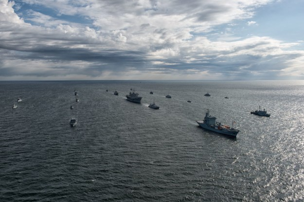 Foggo: Russia Safely, Professionally Watching NATO Naval Exercise After Recent Talks