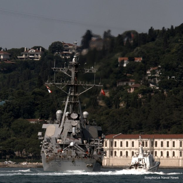 VIDEO: U.S. Destroyer Enters Black Sea for First Time in 2016