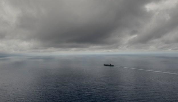 USS Ronald Reagan (CVN 76) transits the South China Sea on July 5, 2016. US Navy Photo