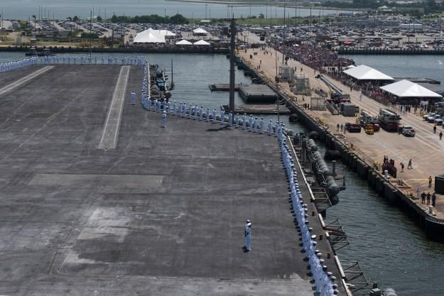 Video: Carrier Harry S. Truman Returns to Norfolk