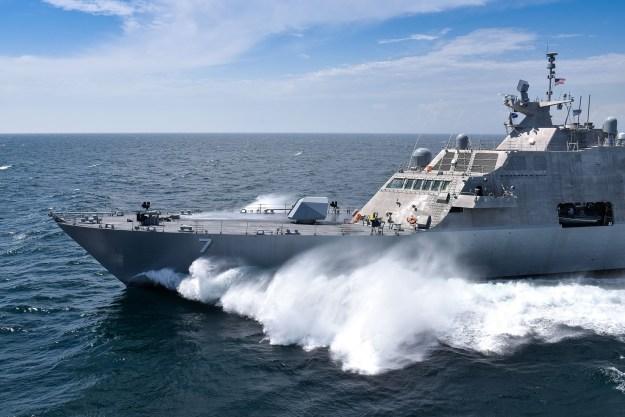 Video: Littoral Combat Ship Detroit Completes Acceptance Trials