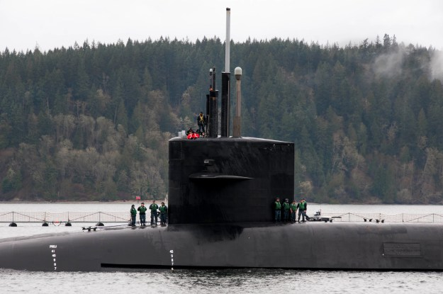 USS Louisiana (SSBN-743) arrives home to Naval Base Kitsap-Bangor following a routine strategic deterrence mission. US Navy Photo