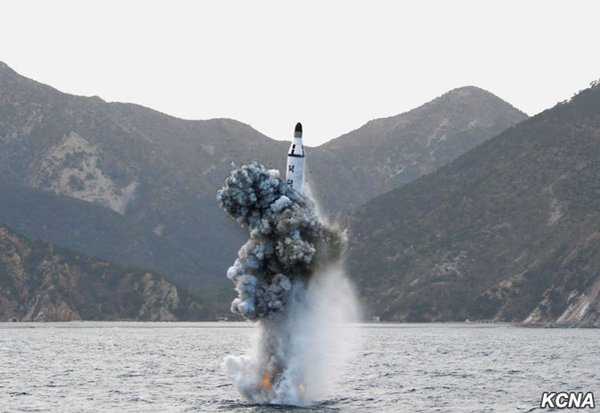 North Korea Fires Submarine Launched Ballistic Missile, U.S. Condemns Action