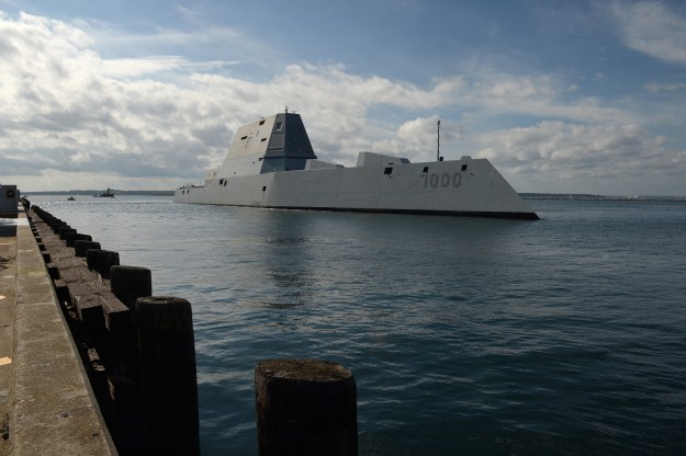 Next-Generation Destroyer Zumwalt Sidelined for Repairs After Engineering Casualty