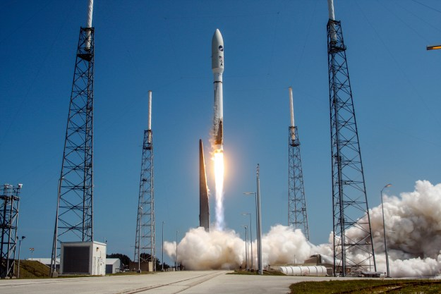 United Launch Alliance (ULA) Atlas V rocket successfully launched the U.S. Air Force X-37B space plane on May 20, 2015. ULA Photo