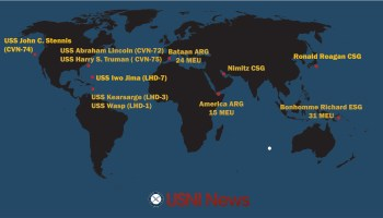 USNI News Fleet And Marine Tracker Aug - Us navy fleet locations map