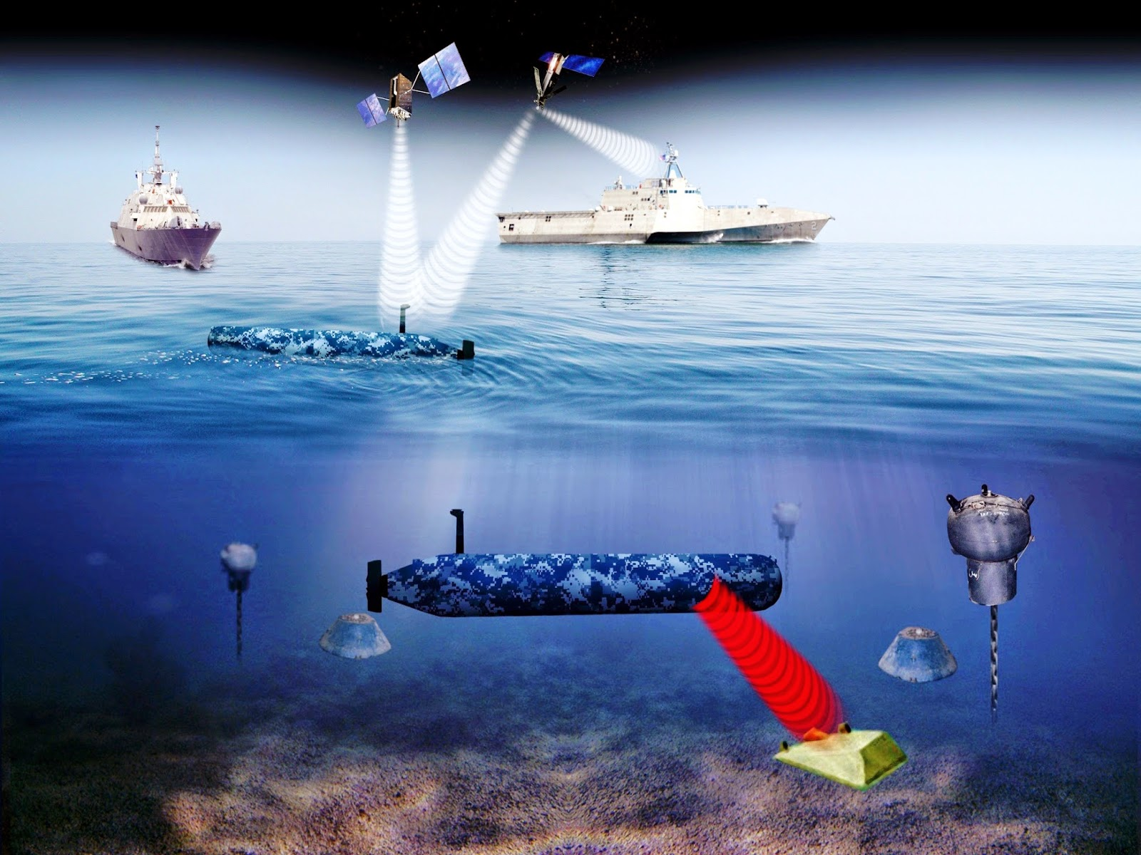navy racing to test, field unmanned maritime vehicles for