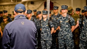 Short on Personnel, Army Recruiters Try Poaching Navy