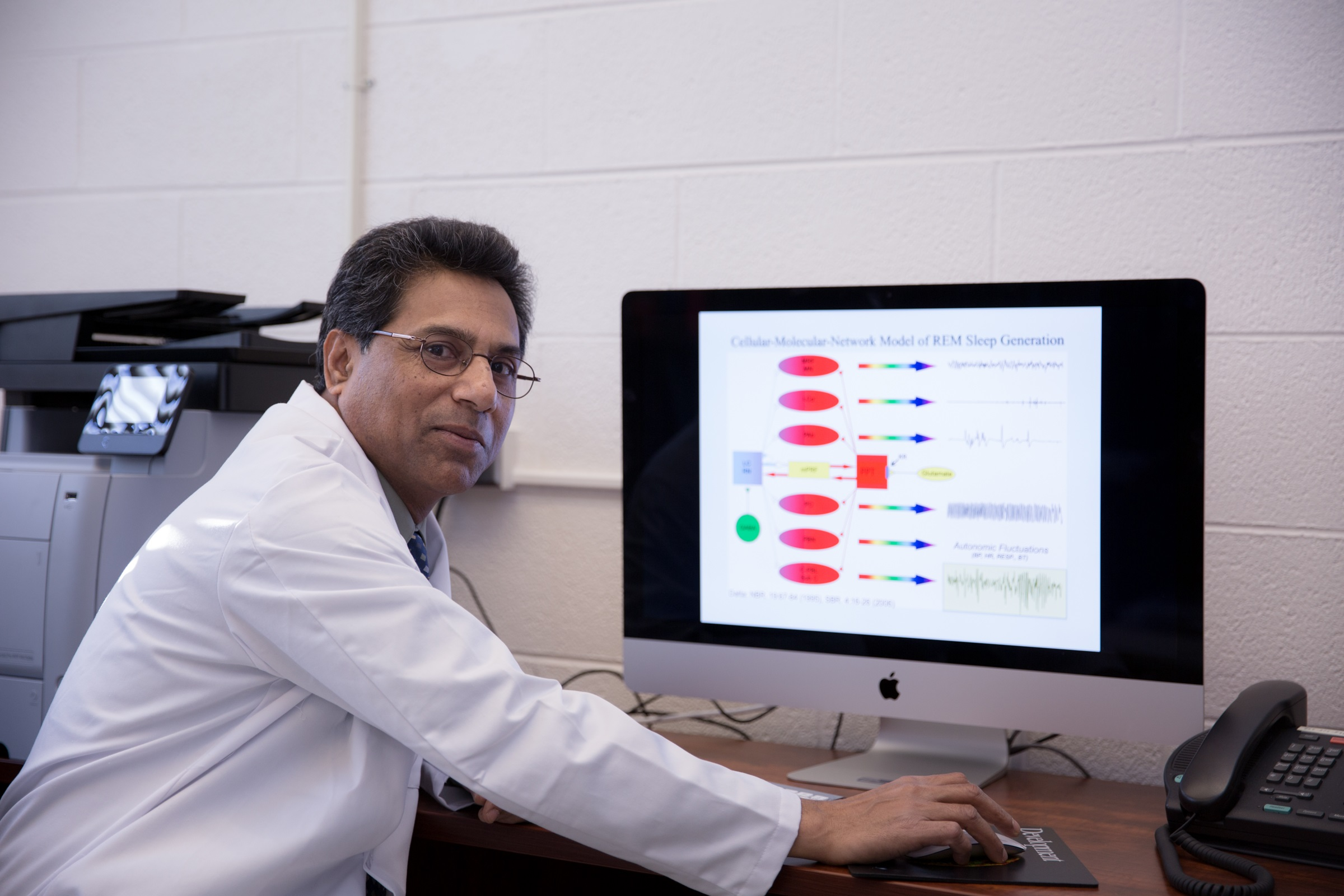 With the help of a $1.4 million NIH grant, Dr. Subimal Datta and his research team will be able to gain more insight into REM sleep and the recovery process associated with it.