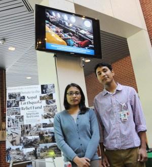 Sabina Ranjit and Bishwas Shrestha