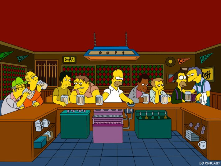 The_Simpsons_Supper_by_Kincaid83