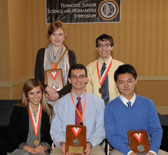 TJSHS's 2012 student winners