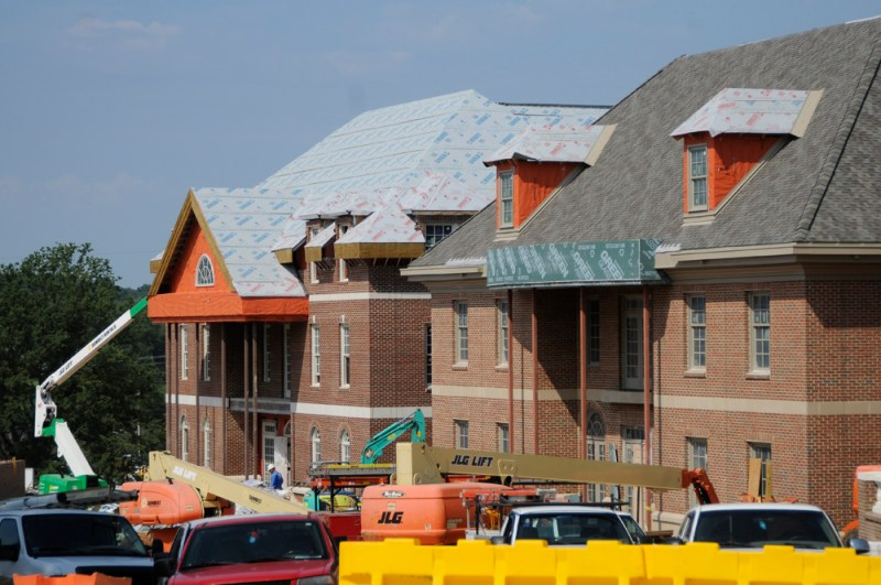 Construction continues at UT's Sorority Village